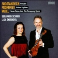 Shostakovich: Preludes; Prokofiev: Visions Fugitives; Weill: Seven Pieces from The Threepenny Opera