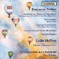 Britten: Variations, etc;  McPhee / Goldstone, Clemmow