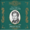 Great Singers in Donizetti -Lucia di Lammermoor, Linda di Chamounix, Lucrezia Borgia, etc (1906-47)