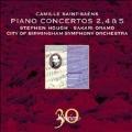 Saint-Saens: Piano Concertos No.2, No.4, No.5<限定盤>