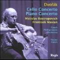 Dvorak: Cello Concerto Op.104, Piano Concerto Op.33