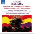 "L.Balada: Symphony No.6 ""Symphony of Sorrows"", Concerto for Three Cellos, Steel Symphony"