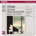 Mozart : Piano Concertos nos 9, 14, 15, 17, 18 / Uchida, Tate, ECO