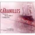 J.Cabanilles: Tiento, Pasacalles & Gallardas  / Leon Berben(org)