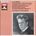 Bach: Piano Concertos no 1, 4 & 5, etc / Edwin Fischer