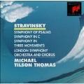 Stravinsky: Symphony Of Psalms, etc / Tilson Thomas