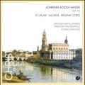 J.A.Hasse: Te Deum, Gloria, Regina Coeli / Konrad Wagner(cond), Dresdner Kapellknaben