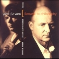 Bryars: Farewell to Philosophy / Lloyd-Webber, Haden, Nexus