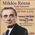 Miklos Rozsa: Cello Concerto Op.32, Sinfonia Concertante Op.29