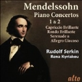 Mendelssohn: Piano Concertos No.1 & No.2, Capriccio Brillante, Rondo Brillante, etc
