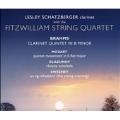 Brahms:Clarinet Quintet op.115/Mozart:Quintet movement K.516/Glazunov:Reverie Orientale op.14-2/etc :Lesley Schatzberger(cl)/Fitzwilliam String Quartet
