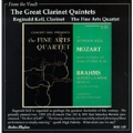 FROM THE VAULT:THE GREAT CLARINET QUINTETS:MOZART/BRAHMS:REGINALD KELL(cl)/THE FINE ARTS QUARTET
