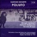 Donizetti :Poliuto (12/10/1977) :Francesco Molinari-Pradelli(cond)/Orchestra e Coro del Teatro San Carlo di Napoli/etc