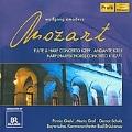 Mozart: Concertos for Flute & Harp / Pirmin Grehl, Maria Graf, Gernot Schulz, Bavarian Chamber Orchestra Bad Brueckenau