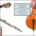Sandstroem: Flute Concerto, Cello Concerto, Guitar Concerto