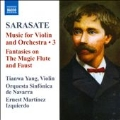Sarasate: Music for Violin & Orchestra Vol.3