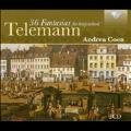 G.P.Telemann: 36 Fantasias for Harpsichord TWV.33