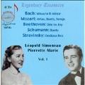 Leopold Simoneau & Pierrette Alarie Vol.1 -J.S.Bach, Mozart, Beethoven, etc (1952-67)