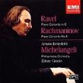 Rachmaninov: Piano Concerto no 4;  Ravel / Michelangeli