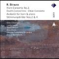 R.Strauss: Horn Concerto No.1, Duett Concertino, Oboe Concerto, etc