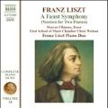 Liszt: A Faust Symphony (Version for 2 Pianos)