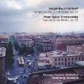 Rachmaninoff: Symphony no 2;  Tchaikovsky: Francesca da Rimini / Vakhtang Jordania, et al