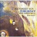 Zemlinsky: String Quartets no 2 & 3 / Kocian Quartet