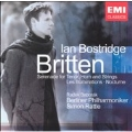 BRITTEN:ORCHESTRAL SONGS:LES ILLUMINATIONS/SERENADE OP.31/NOCTURNE:IAN BOSTRIDGE(T)/RADEK BABORAK(hrn)/SIMON RATTLE(cond)/BPO