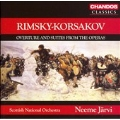 RIMSKY-KORSAKOV:OVERTURE & SUITES FROM THE OPERAS:MAY NIGHT OVERTURE/THE SNOW MAIDEN SUITE/ETC:N.JARVI(cond)/SCOTTISH NATIONAL ORCHESTRA