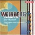 Weinberg: Symphonies Vol 2 / Chmura, et al