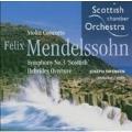 Mendelssohn: Symphony no 3, etc / Swensen, Scottish CO