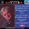 Vaughan Williams: Symphony no 9;  Arnold / Boult, Arnold
