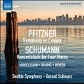 Pfitzner: Symphony in C major; Schumann: Konzertstuck for Four Horn, etc