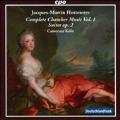 J.M.Hotteterre: Complete Chamber Music Vol.1 - Suiten No.1-5, Le Clavecin Avec la Basse Op.2