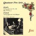 Strings - Haydn, Franck: String Quartets / Quatour Pro Arte