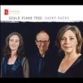 サン=サーンス: ピアノ三重奏曲第1番ヘ長調 Op.18/ピアノ三重奏曲第 2番ホ短調 Op.92/ミューズと詩人たち Op.132