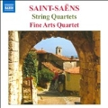 Saint-Saens: String Quartets No.1 Op.112, No.2 Op.153