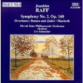 Raff: Symphony no 2, Overtures / Schneider, Slovak State PO