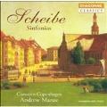 Scheibe: Sinfonias / Andrew Manze, Concerto Copenhagen