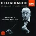 Brahms: Symphony no 1, German Requiem / Celibidache, et al