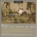 In Honor of Rudolf Kolisch