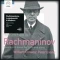 Rachmaninov: Cello Sonata Op.19; Lutoslawski: Grave for Cello and Piano; Webern: Three Little Pieces