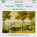 Brahms: Piano Variations