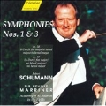 Schumann: Symphonies no 1 & 3 / Marriner, ASMF