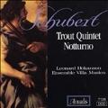 Schubert: Trout Quintet, Notturno / Hokanson, Villa Musica