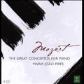 Mozart: The Great Concertos for Piano -No.9, No.12-No.14, No.17, No.19-No.21, No.23, No.26-No.27, etc / Maria-Joao Pires(p), Theodor Guschlbauer(cond), Orchestre de la Foundation Gulbenkian de Lisbonne, etc