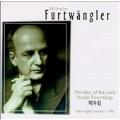 Furtwaengler - Best of the Early Studio Recordings 1929-1943