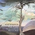 L.Weiner: Violin Sonatas No.1, No.2, Pereg Recruiting Dance Op.40, etc / Hagai Shaham, Arnon Erez