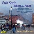 Satie: The Velvet Gentleman's Album for Piano
