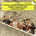 "Dvorak: String Quartet No.12 Op.96""American"" B.179, Cypresses B.152; Kodaly: String Quartet No.2  Op.10 / Hagen Quartett"